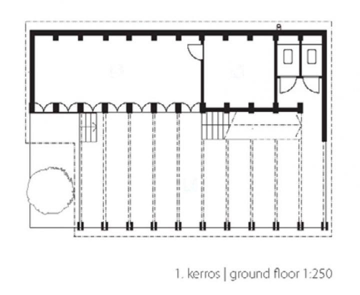 Ground floor, Sra Pou Vocational School