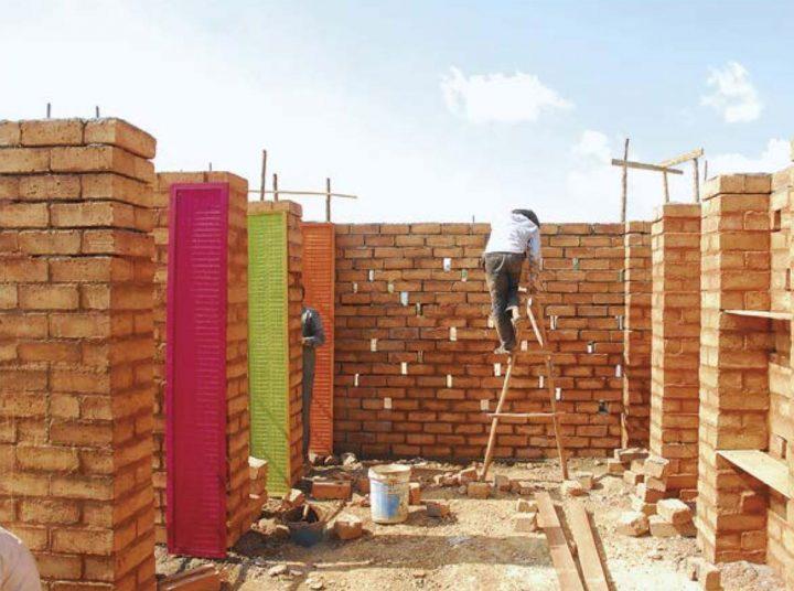 Construction phase, Sra Pou Vocational School