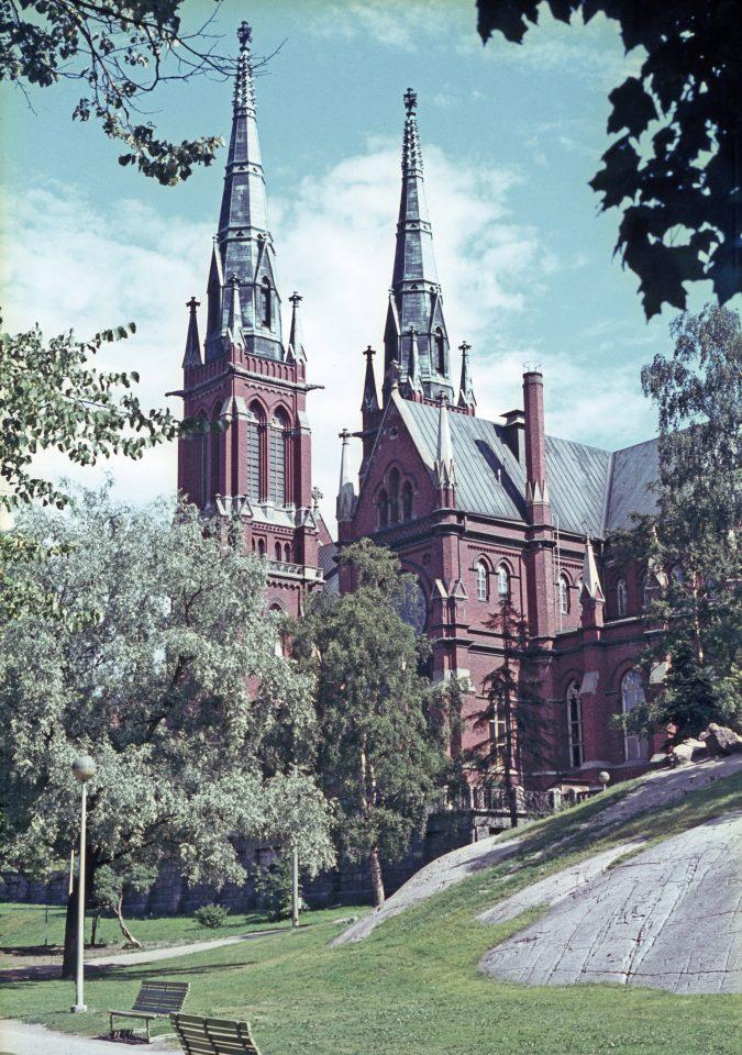 St. John's Church photographed in the 1960s, St. John's Church