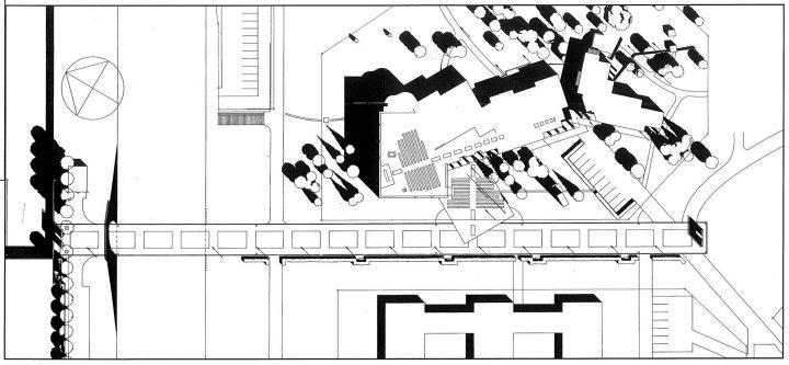 Site plan , St. Michael's Church