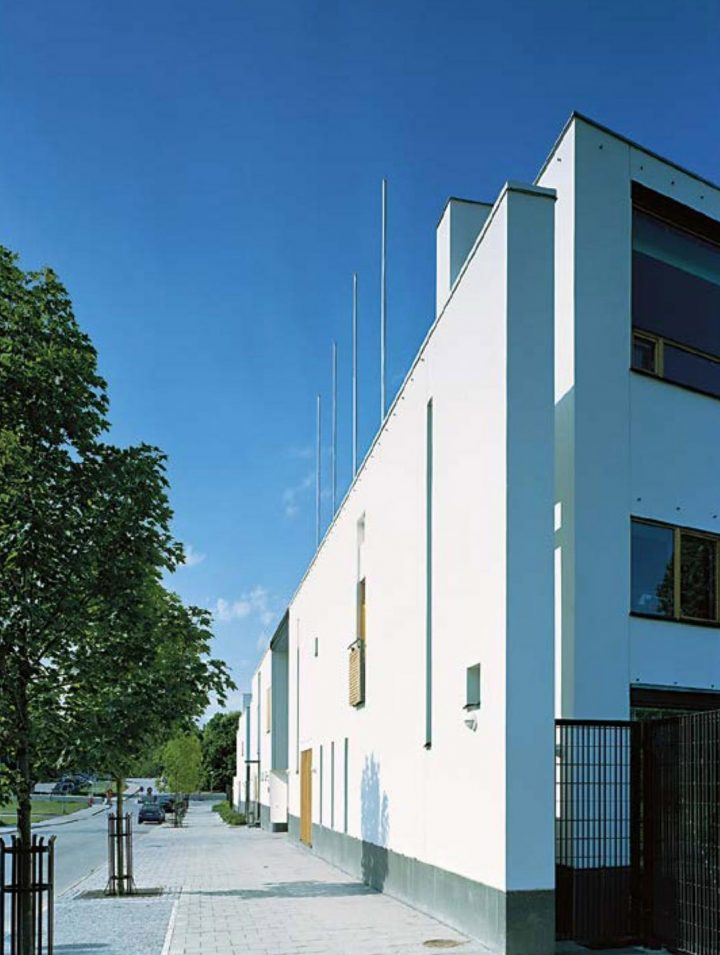 Street elevation, Stockholm Embassy of Finland