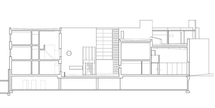 Section plan, Stockholm Embassy of Finland