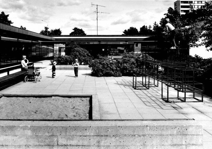 Suikkila northern shopping centre, built 1968-1972, Suikkila Suburb