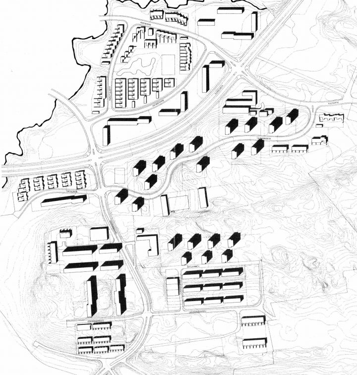 Detail Plan, Suikkila Suburb