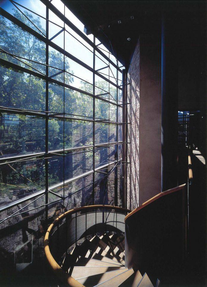 Staircase, Suomenlinna Museum