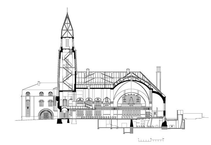 Section, St Paul's Church