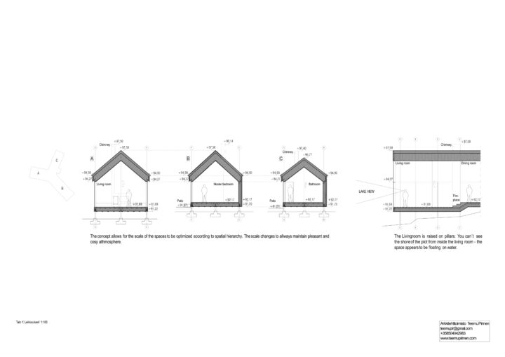 Sections, House Y