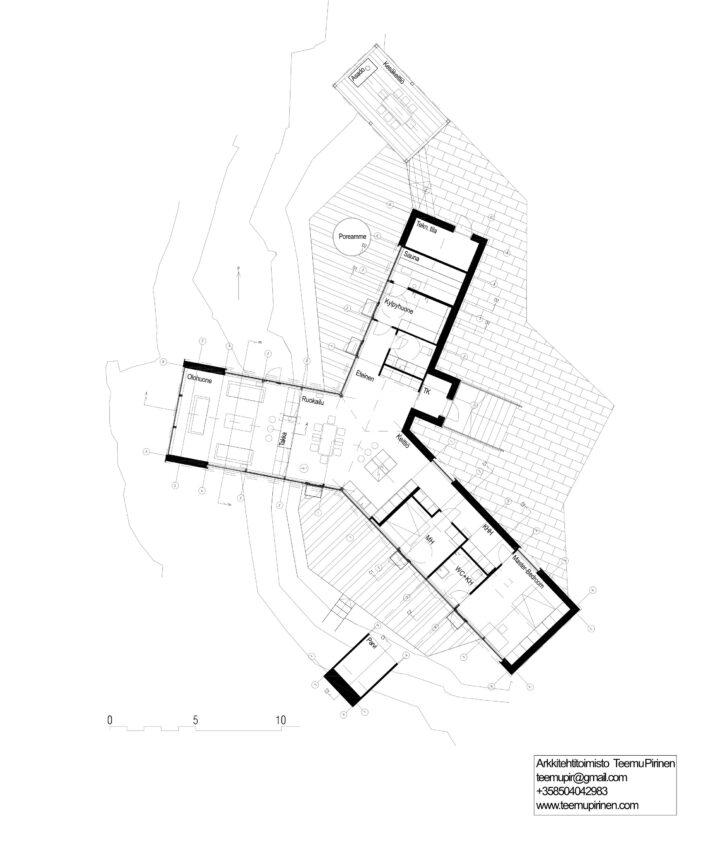 Floor plan, House Y
