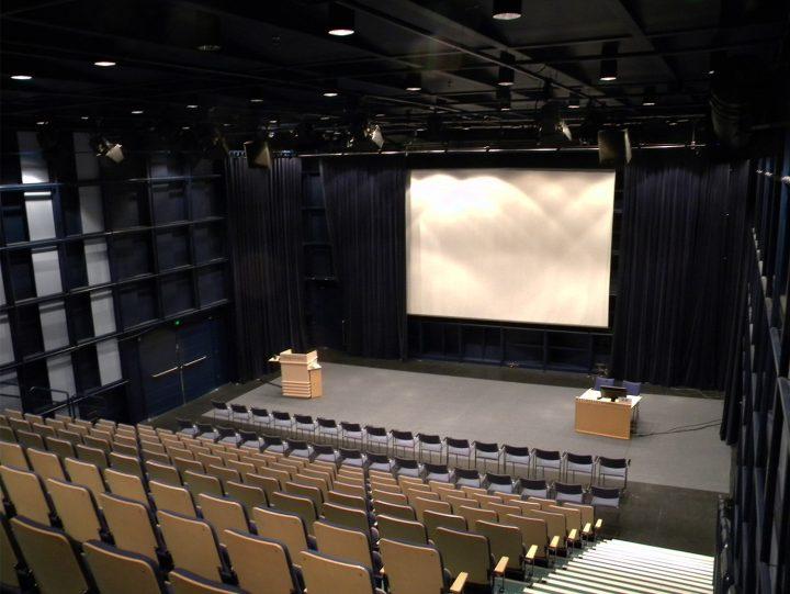 An auditorium, Tampere Hall