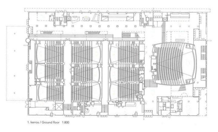 Ground floor, Tennis Palace