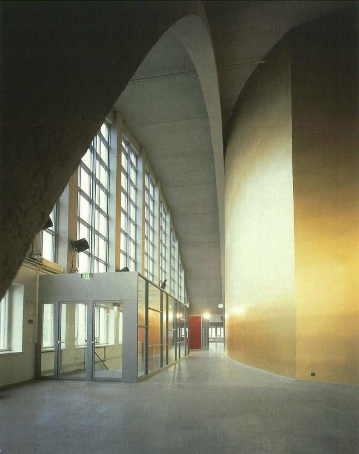 Foyer on the second floor, Tennis Palace