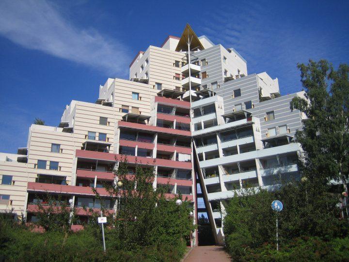 Pikku Huopalahti Terraced Building Block
