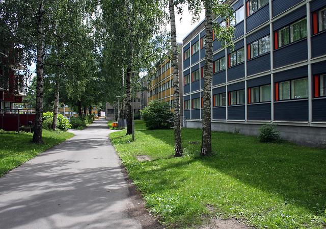 Street view, University of Turku Student Village