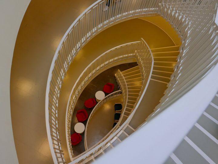 Staircase, Töölö Library
