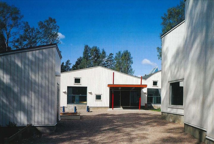 Yard view, Toppelund Daycare Centre