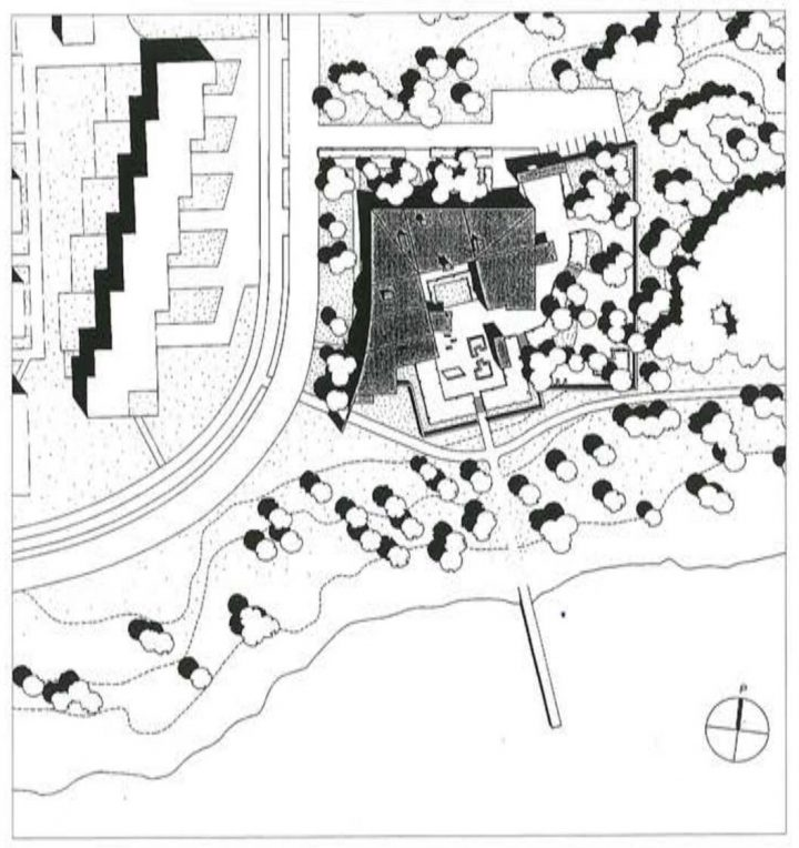 Site plan, Toppelund Daycare Centre