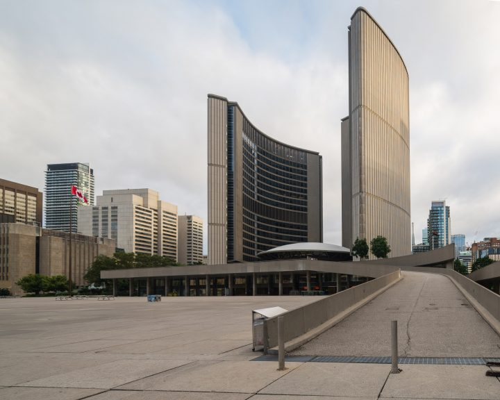Southern façade, Toronto City Hall