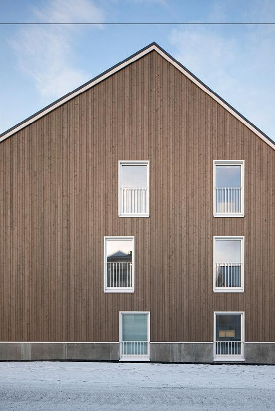 North elevation, Trekoli Senior Housing
