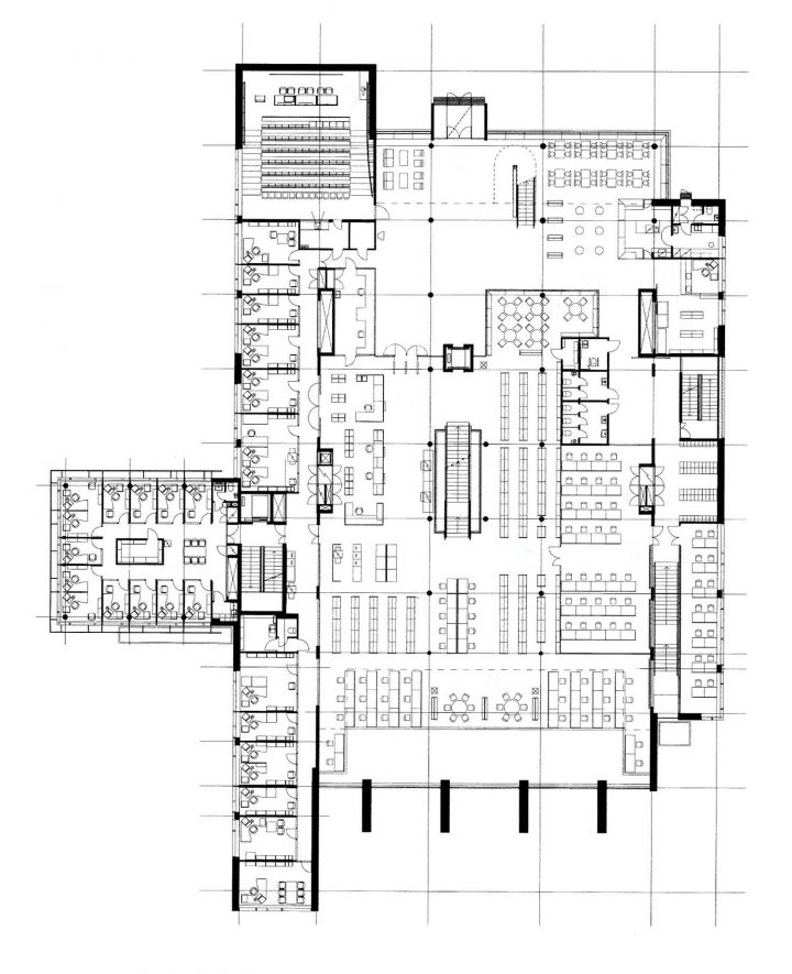 1st floor, Tritonia Science Library