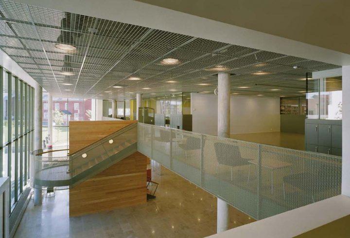 Entrance lobby, Tritonia Science Library