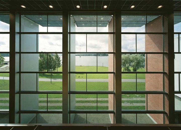 Window wall, Tritonia Science Library