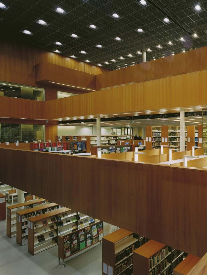 View from the reading balcony, Tritonia Science Library