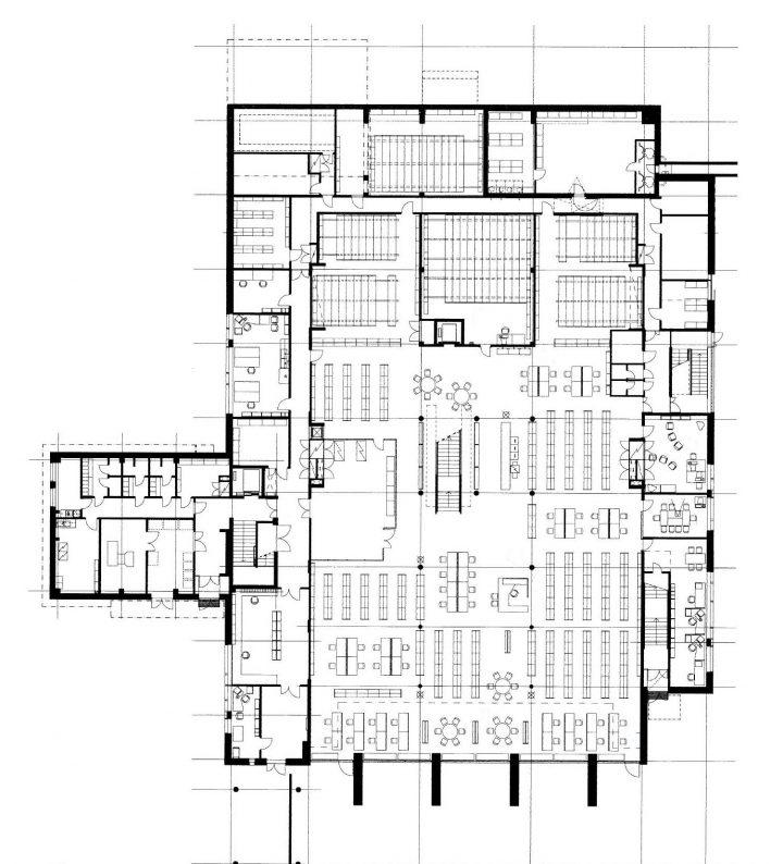 Ground floor, Tritonia Science Library