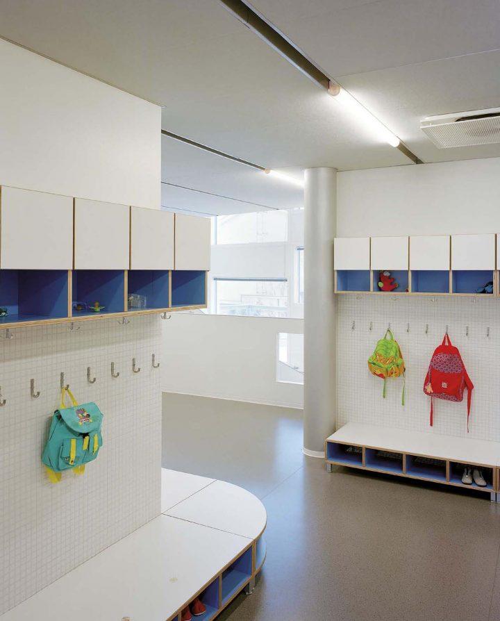 Corridor, Tuomarila Daycare Centre