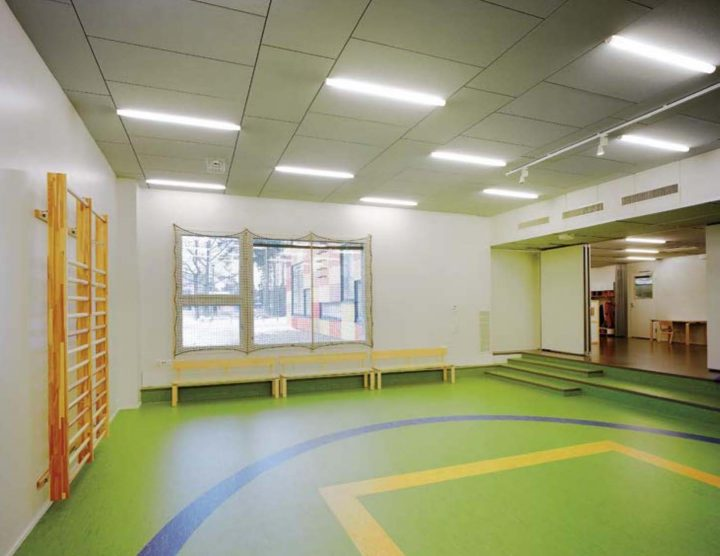 Indoor play area, Tuomarila Daycare Centre