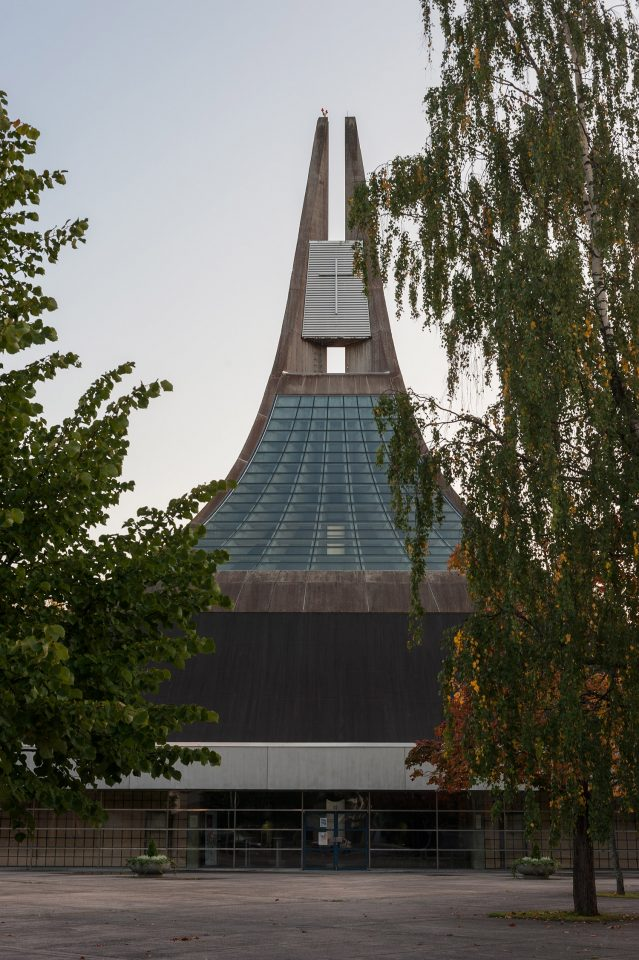 Northeast elevation, Lauritsala Church