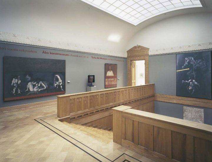 1st floor landing, Turku Art Museum