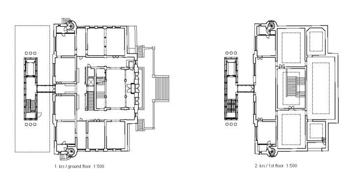Ground floor and 1st floor, Turku Art Museum