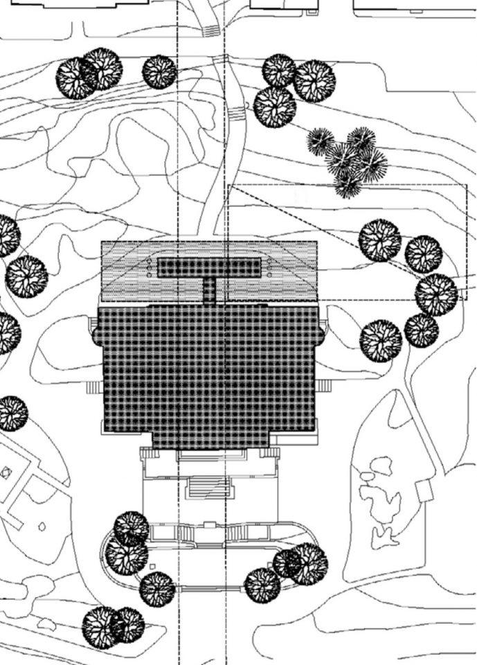 Site plan, Turku Art Museum