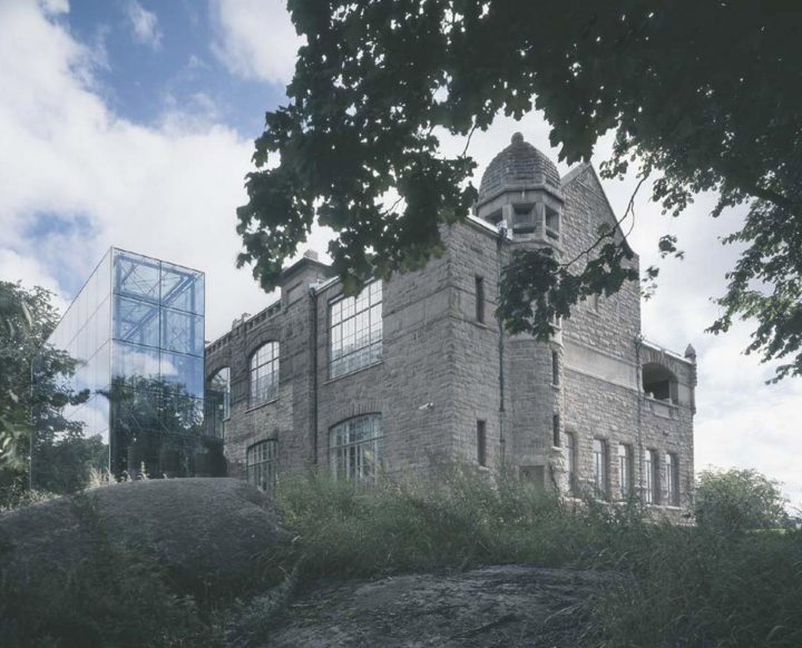 View from the west, Turku Art Museum