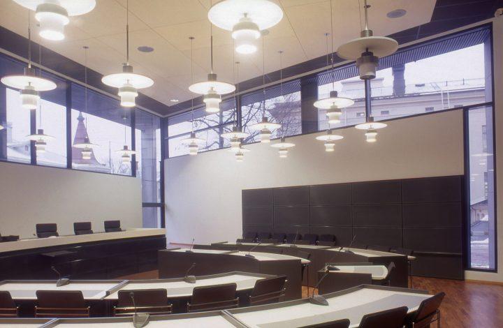 Courtroom, Turku Courthouse