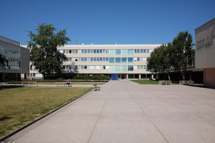 Main square, University of Turku Main Campus