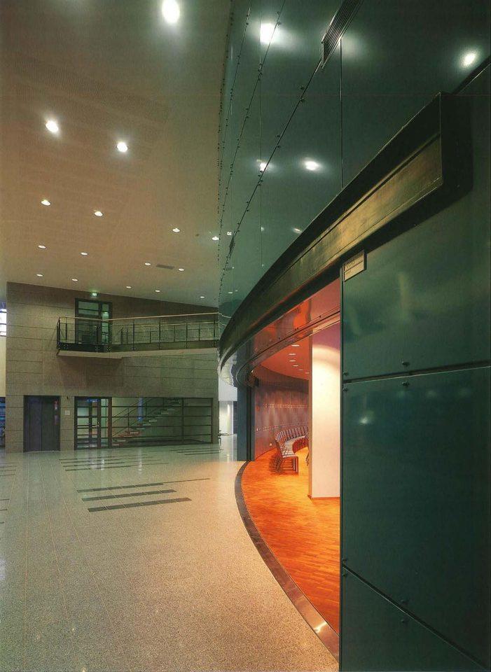 Main foyer, University of Oulu Main Building