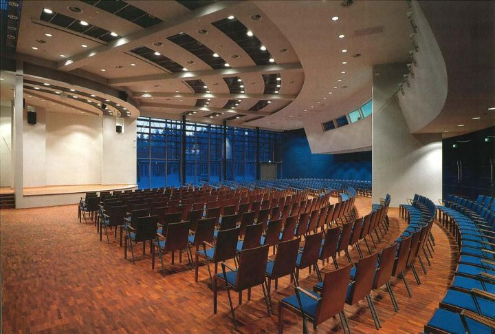 Auditorium, University of Oulu Main Building