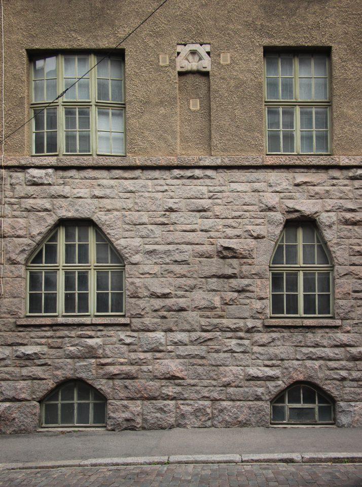 Yrjönkatu street façade, Uudenmaankatu 5 Art Nouveau Building