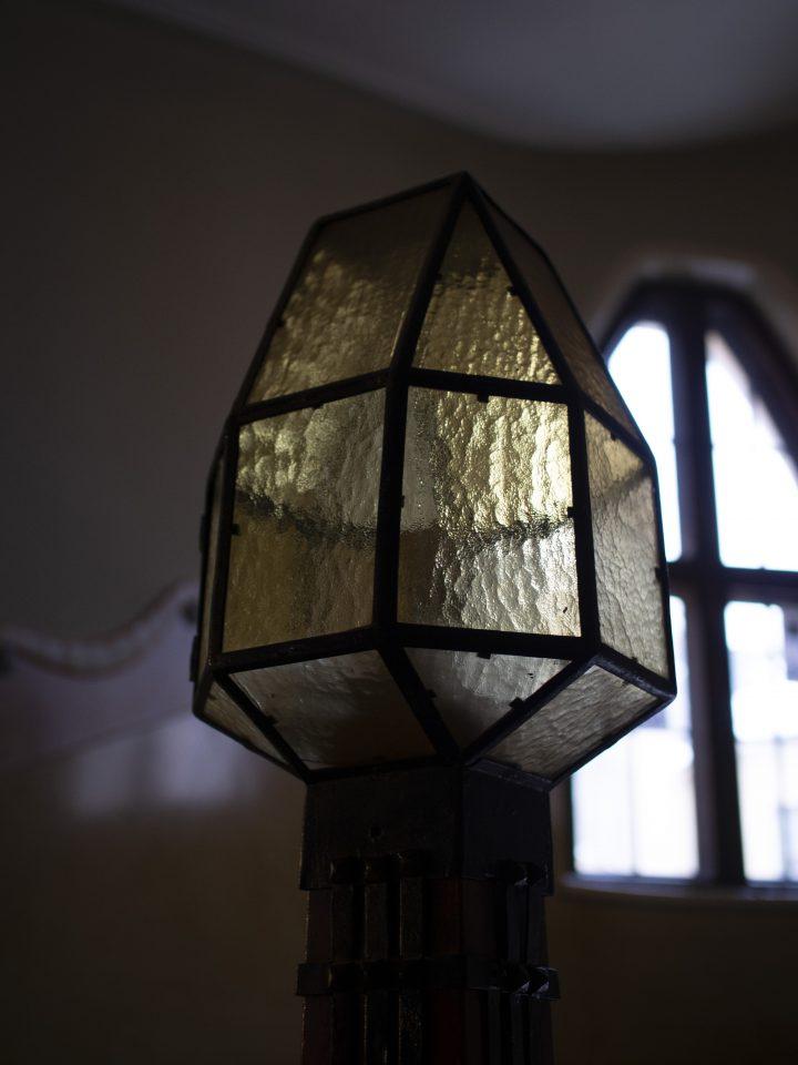 A lantern in the staircase, Uudenmaankatu 5 Art Nouveau Building