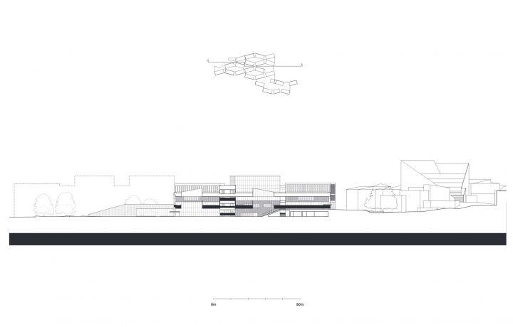 Section, Aalto University Väre Building