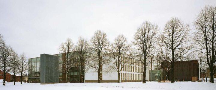North elevations, Vaasa City Library