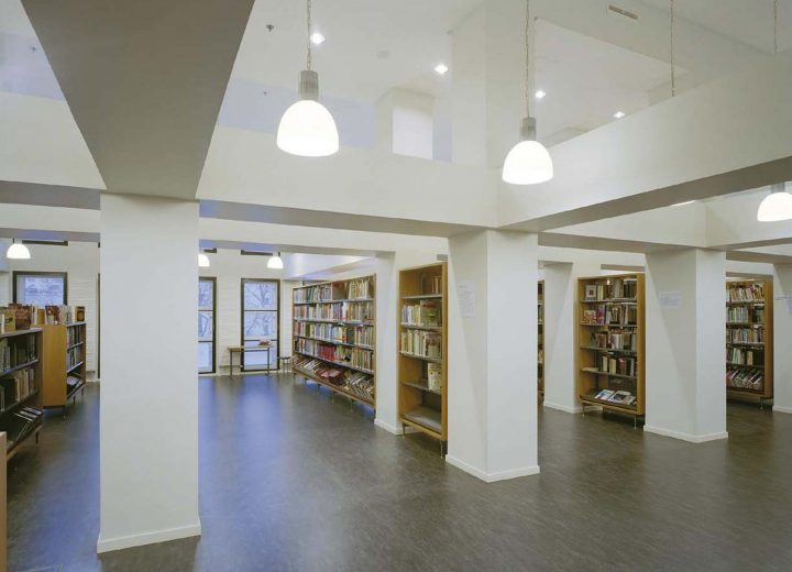Interior from the old building, Vaasa City Library
