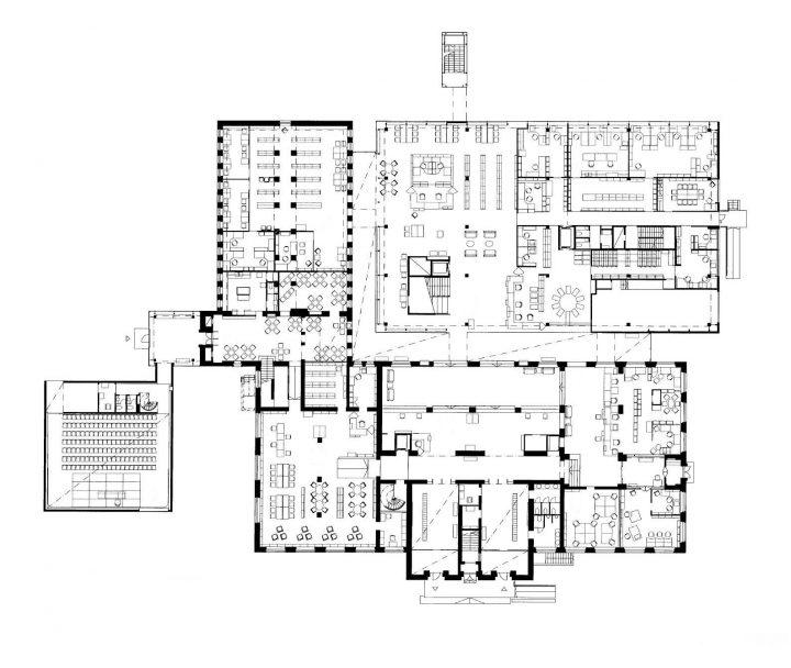 Ground floor, Vaasa City Library