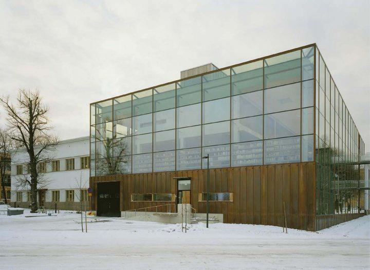 Extension, Vaasa City Library