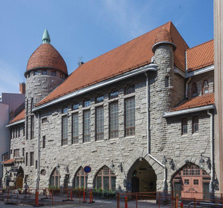 Main façade, Vanha Poli Student Union Building