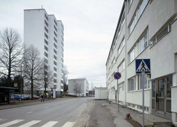 Street view from north, Viitatorni