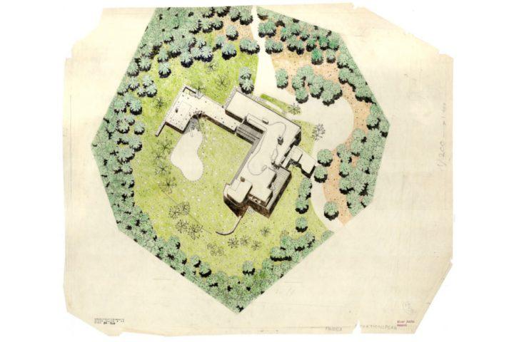 Site plan, Villa Mairea