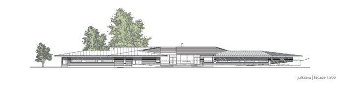 Elevation plan, Villa Andante Nursing Home