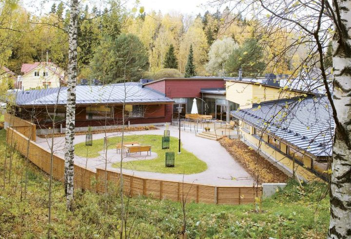 Courtyard, Villa Andante Nursing Home
